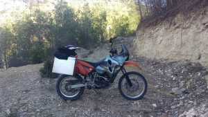 Riding the Trans Euro Trail (TET) in Spain