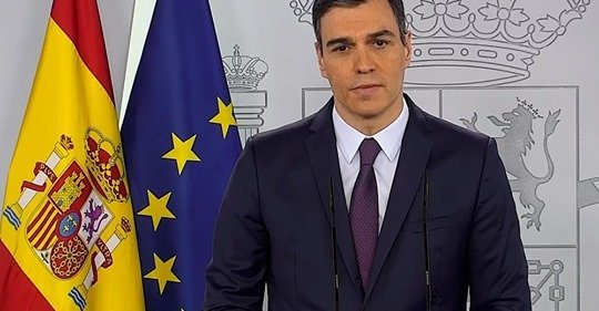 Spanish PM Asks For A 1 Month Extension To The State Of Alarm